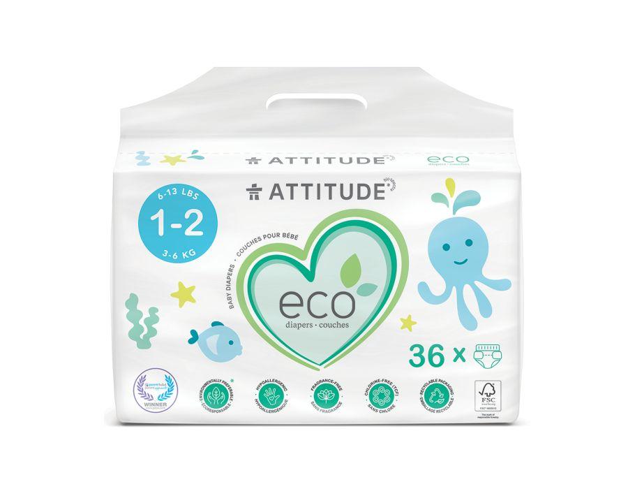 Luiers Wegwerp Eco 1-2 (3-6kg)