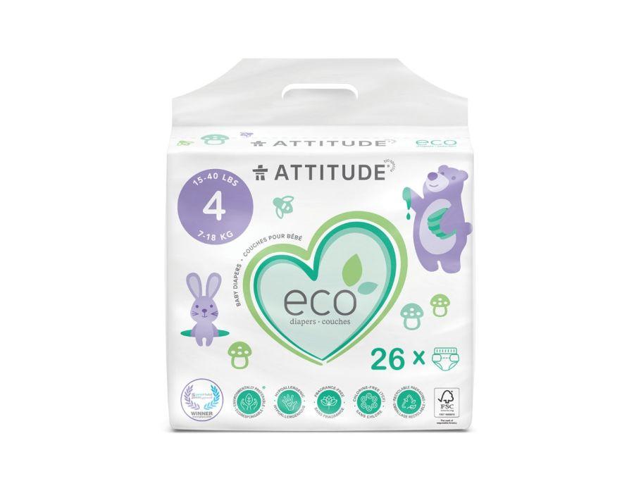 Luiers Wegwerp Eco 4 (7-18kg)