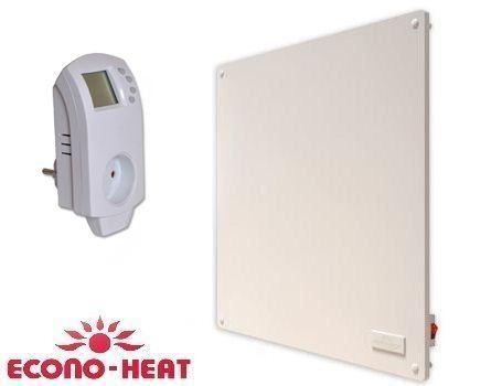 Elektrisch verwarmingspaneel - 400 Watt - met thermostaat