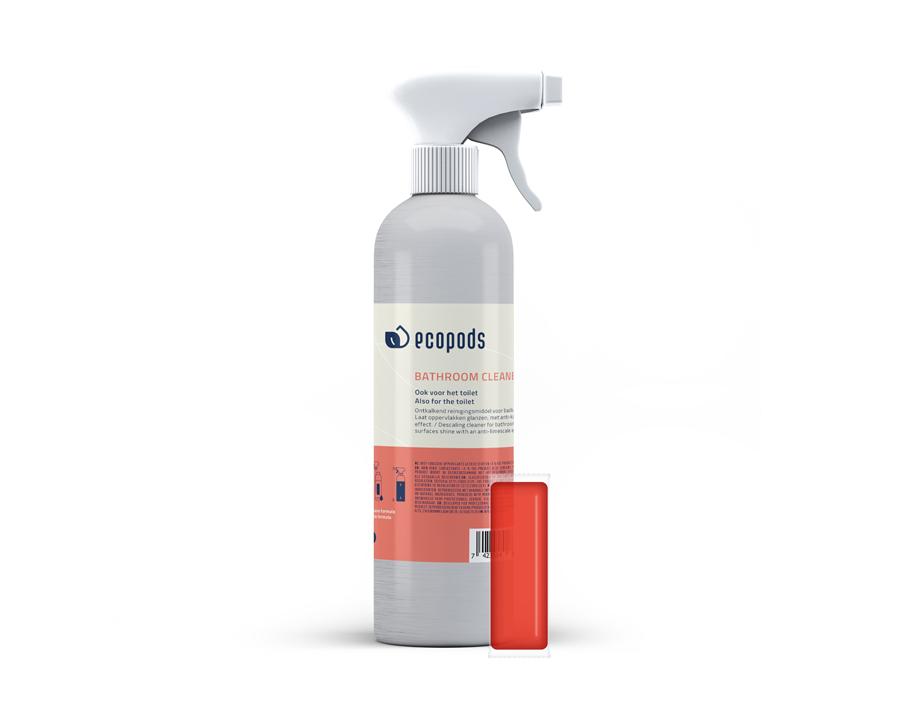 Spuitbus Aluminium - Sanireiniger - Rood