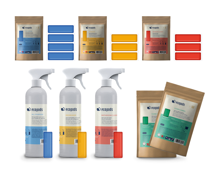 Ecopods aluminium starterpaket