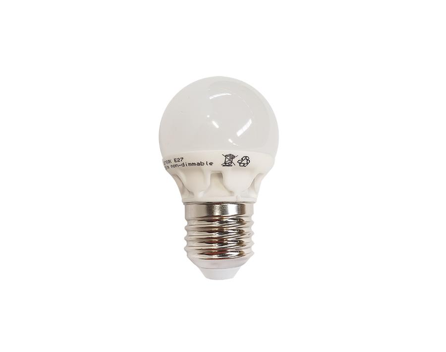 Ledlamp - E27 - 160lm - 2W - Warm White