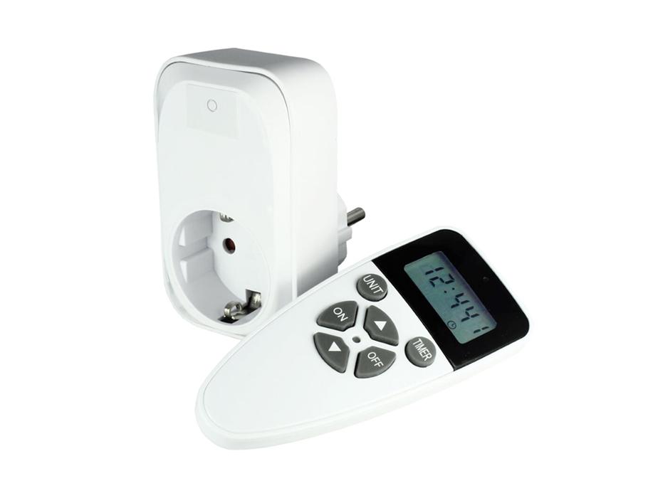 Remote control contactschakelaar - met timer