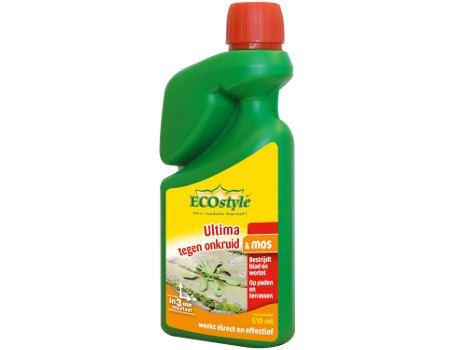 Ultima onkruid & mos verdelger concentraat 1020 ml