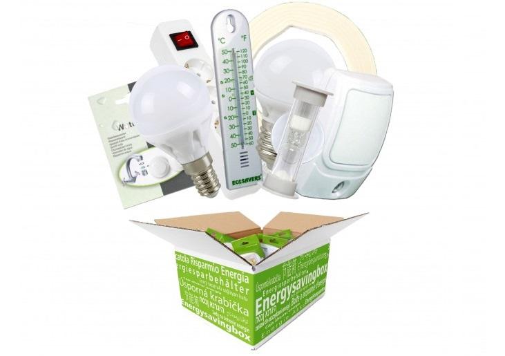 Energiebespaarbox - Mix van producten 2