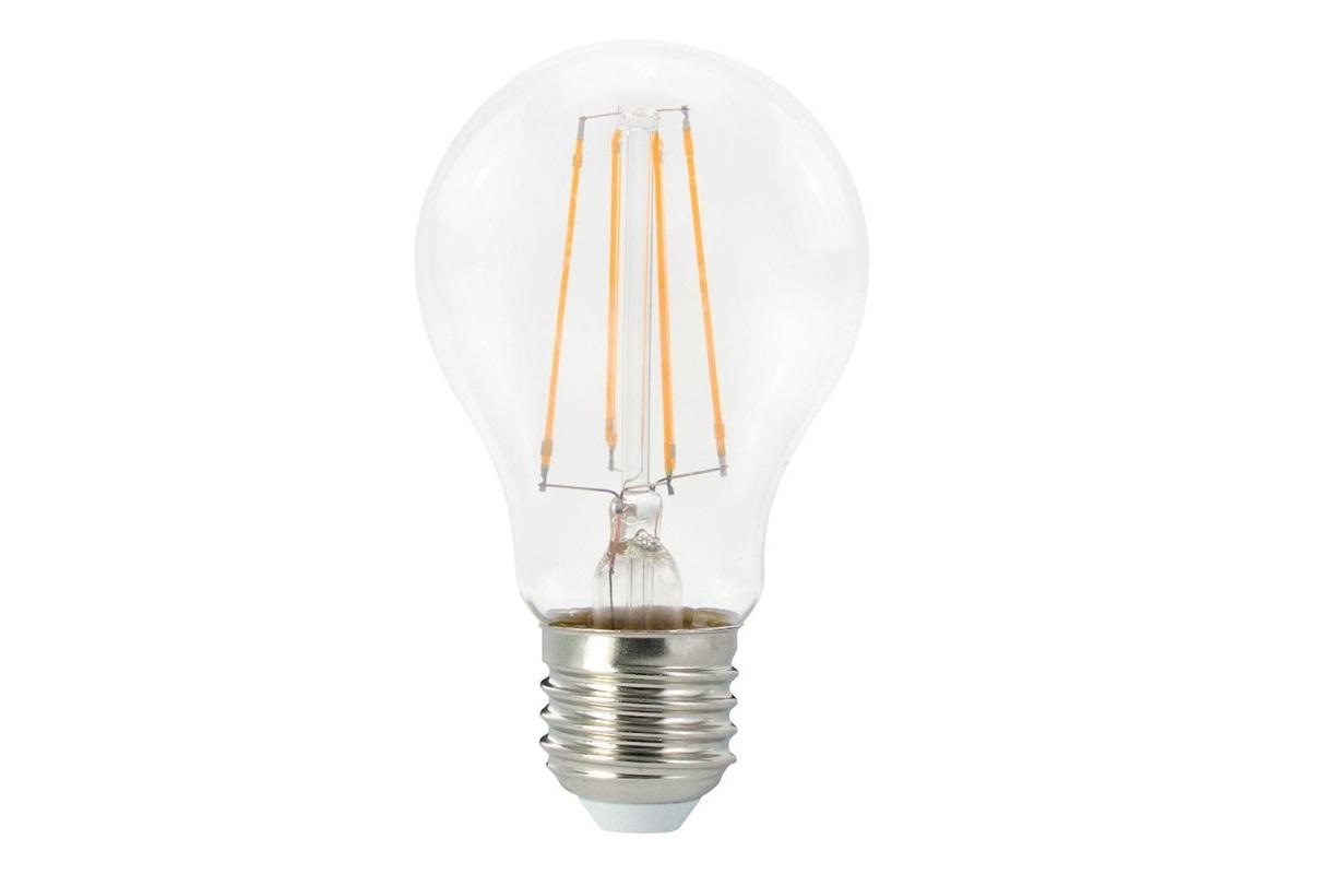 Ledlamp - E27 GLS standaard - 8W - 1000L dimbaar