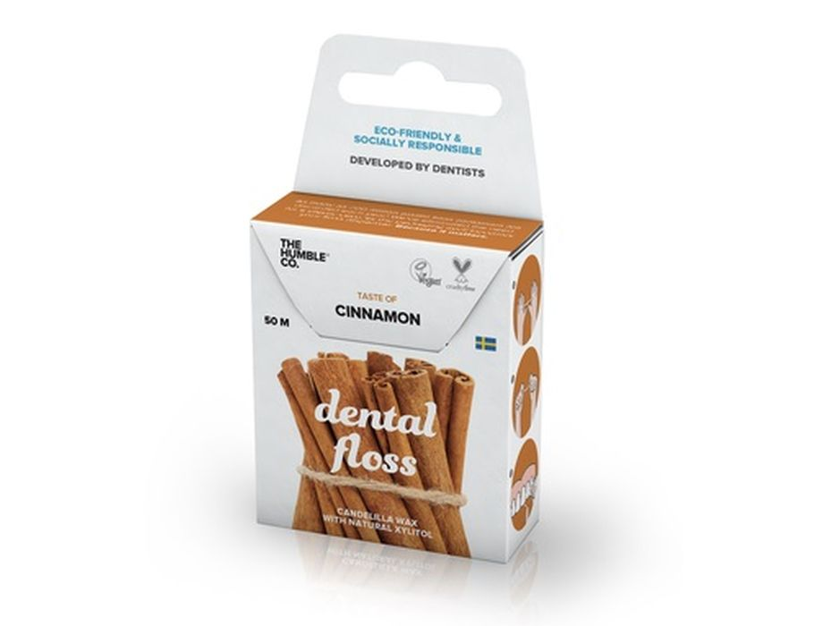 Dental Floss Zahnseide Cinnamon 50 m