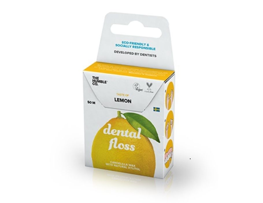 Dental Floss Zahnseide Zitrone 50 m
