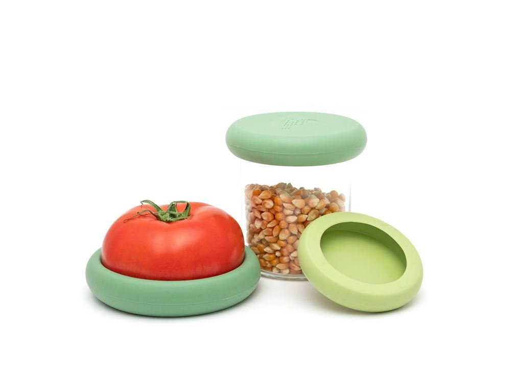 Foodhuggers - 3 stuks - Big Hugs - Soft Green