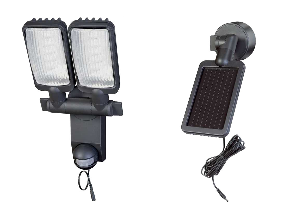 Solar LED Strahler DUO