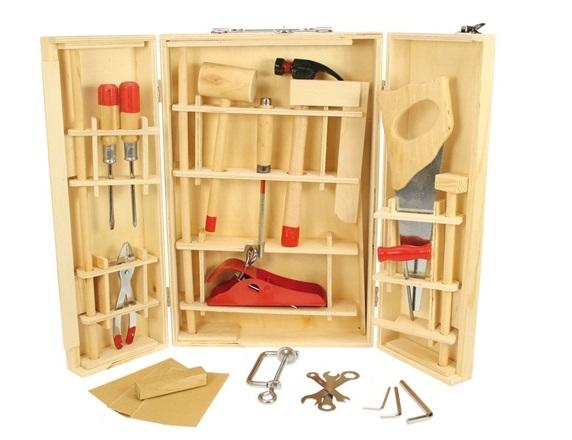 Werkzeugkasten 28-teilig - Kinder