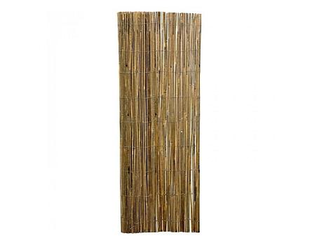 Bamboemat - Naturel Gespleten