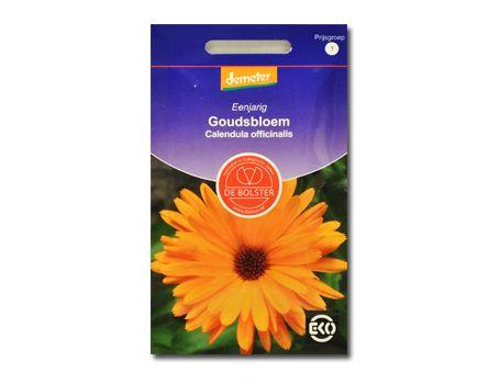 Biologische bloemen Goudsbloem