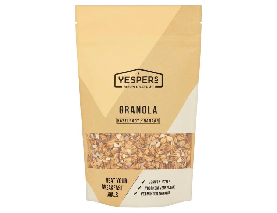 Granola Hazelnoot-Banaan