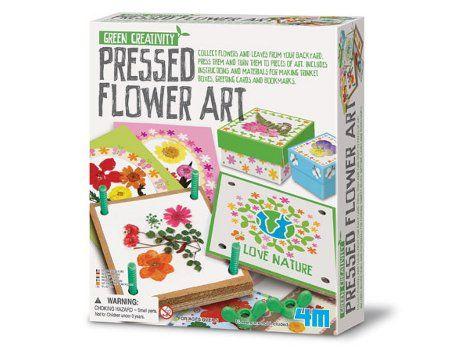 Blüten Presse Kunst Karten