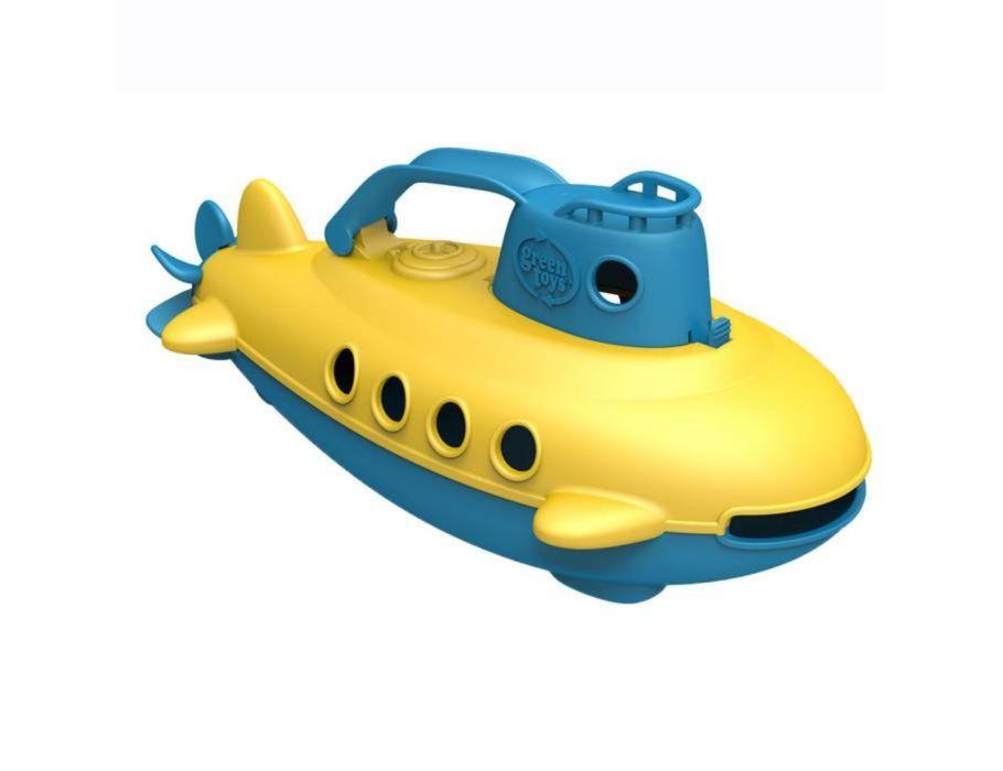 Duikboot - Geel met blauwe handgreep