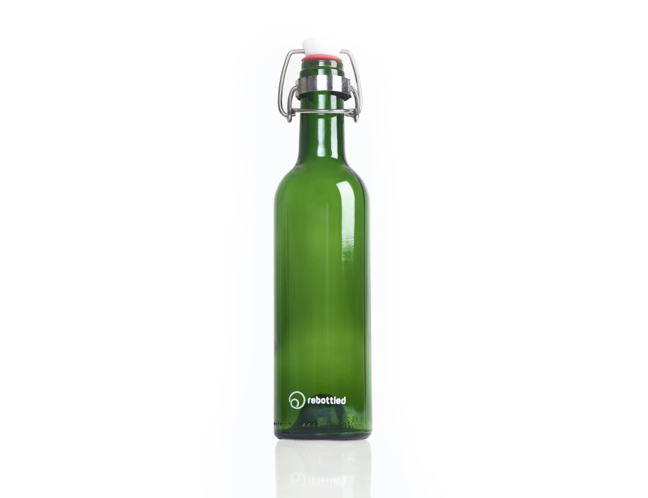 Rebottled Fles - Green