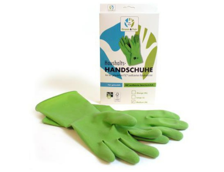 aushaltshandschuh - M - Green & Fair