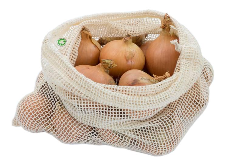 Fruit en Groente netje - Maat L