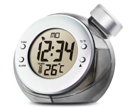 Waterklok - Alarm en temperatuur