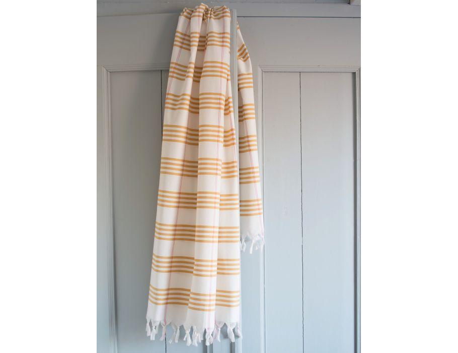 Hamam handdoek - 170 x 100 - ocher