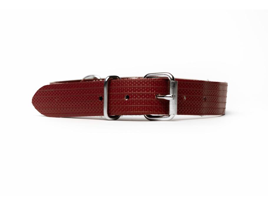 #114 Brandweerslang honden halsband - maat M