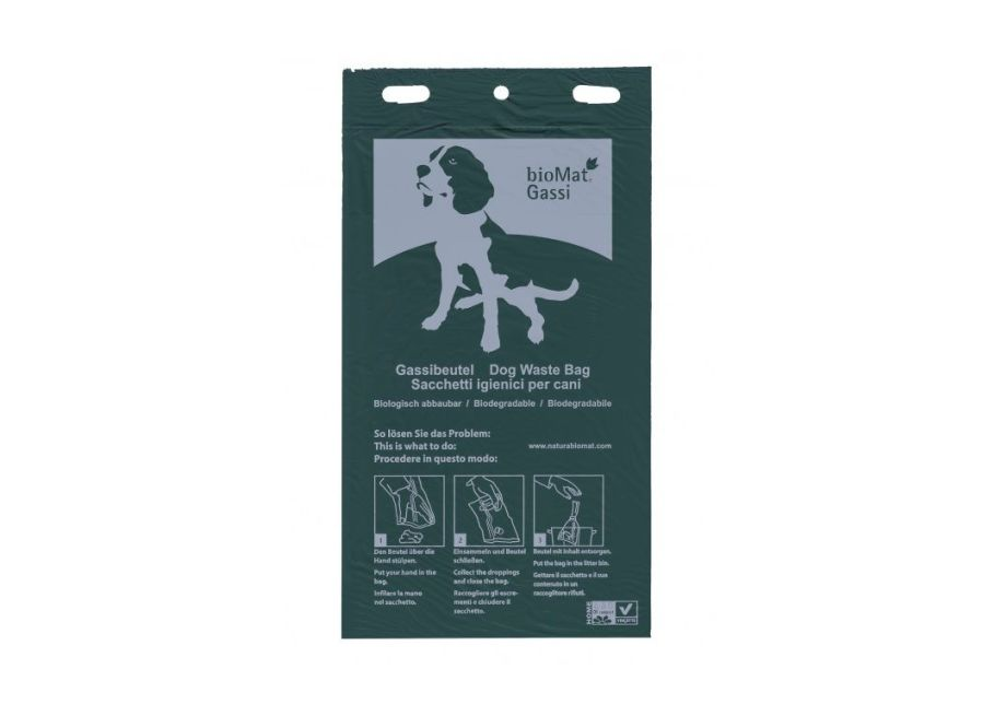 Kompostierbare Hundekotbeutel - 100 Beutel