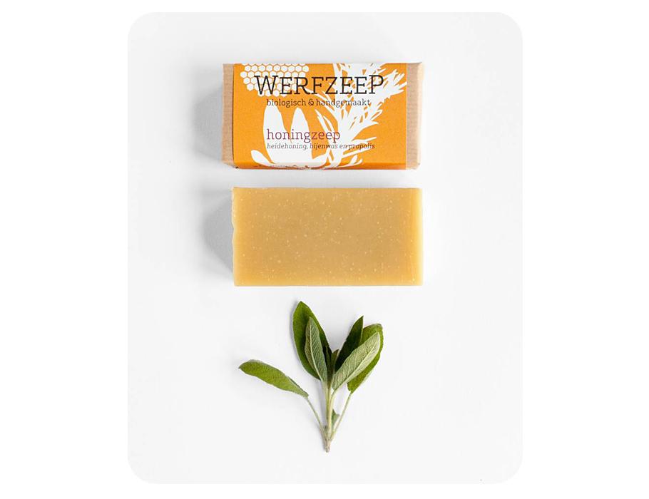 Werfzeep honingzeep - 100 gr