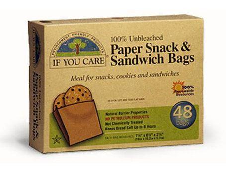 Sandwich und Snack Beutel