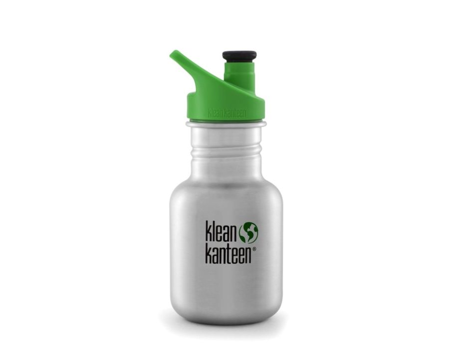 12 oz / 355 ml Kid Kanteen - Sport Cap - Plain Brushed