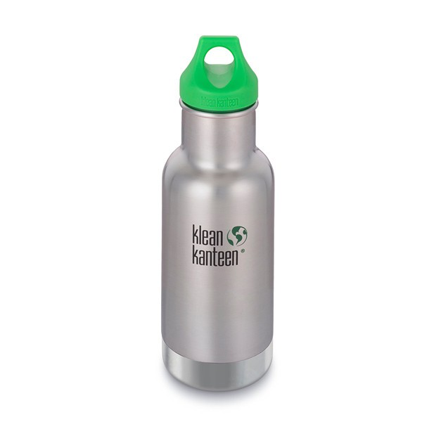 12 oz Kid Kanteen classic geïsoleerd - Brushed