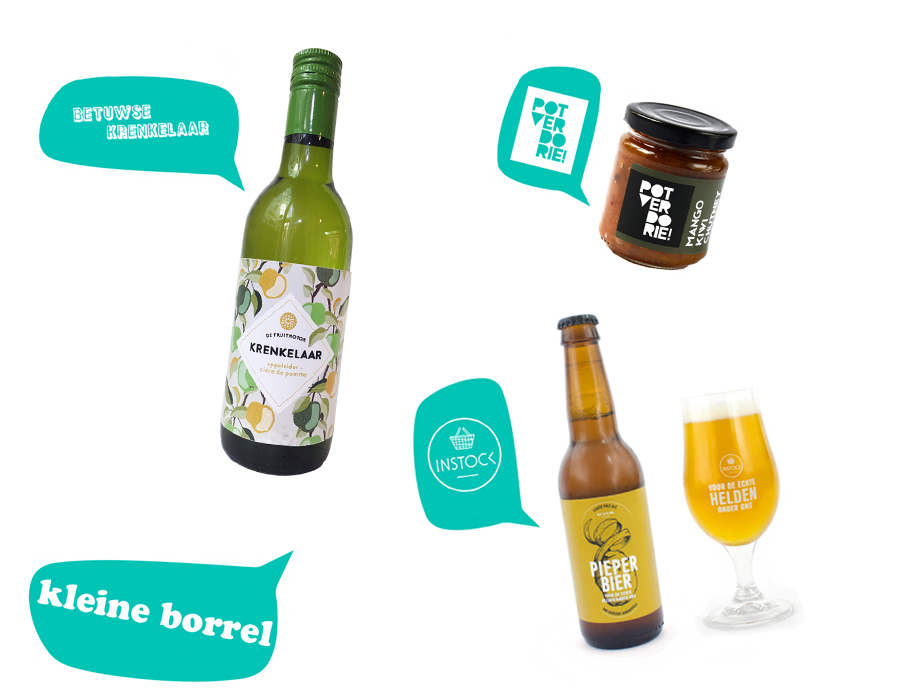 Verspilling is verrukkelijk borrel box