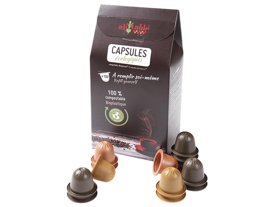 Biologische afbreekbare Koffie cups