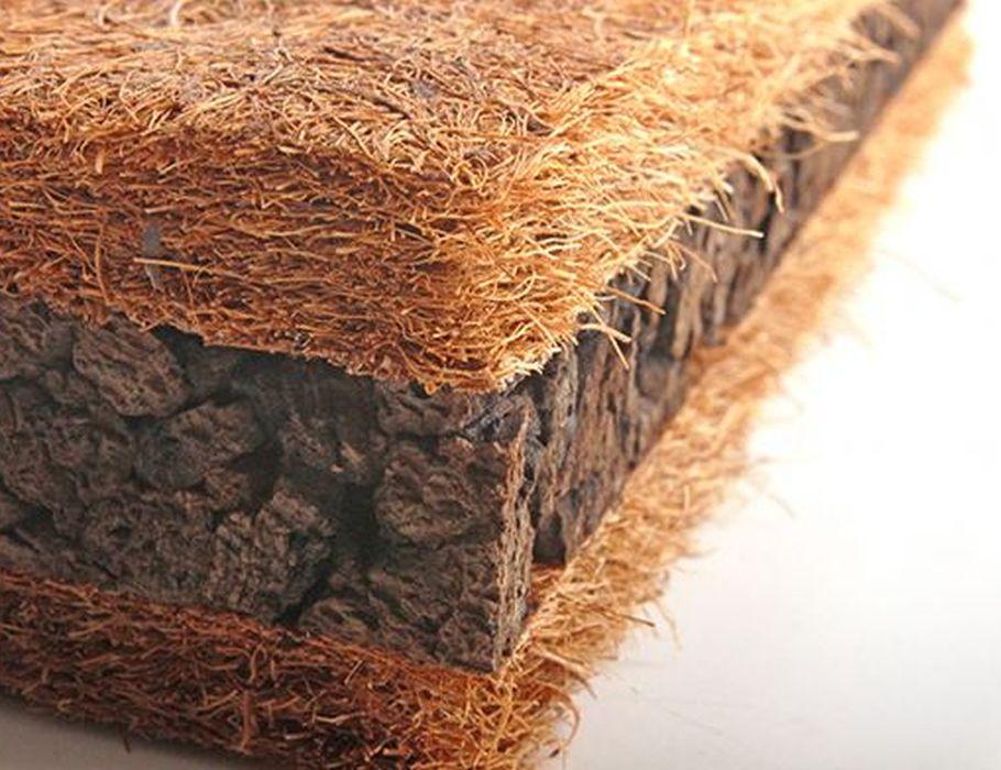 kurk-kokosplaten isolatie 1+2+1