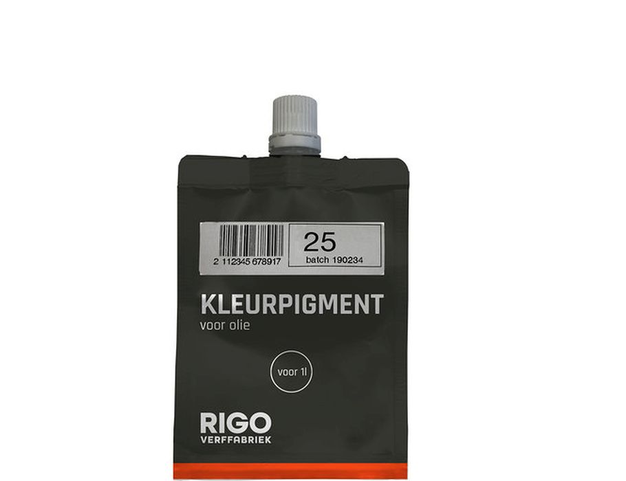 Kleurpigment Olie 25 voor 1L #0125