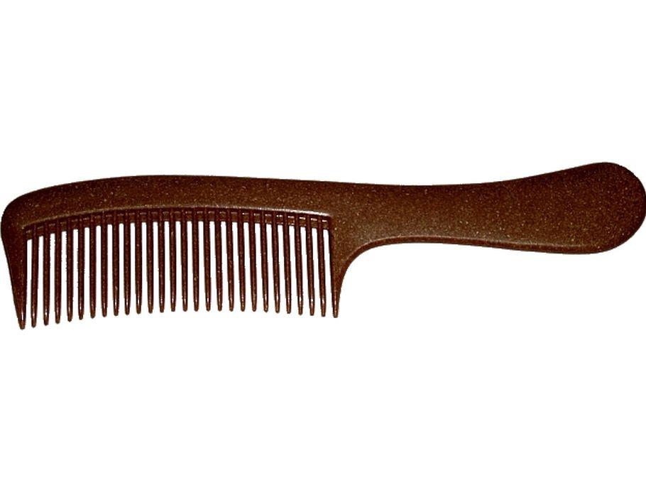 Kam met steel vloeibaar hout