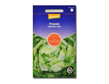 Biologische groenten Kropsla Twellose Gele