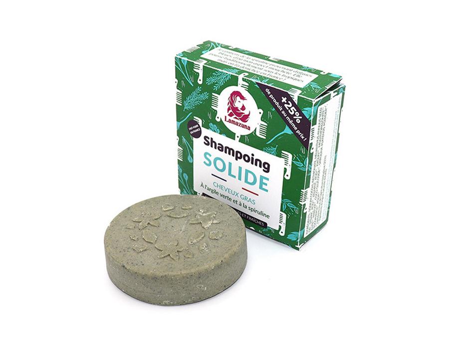 Shampoo Blok - Vet Haar - Groene Klei & Spirulina