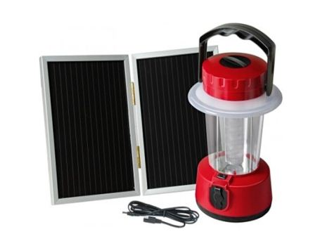 Solar LED-camping lantaarn SCL 24