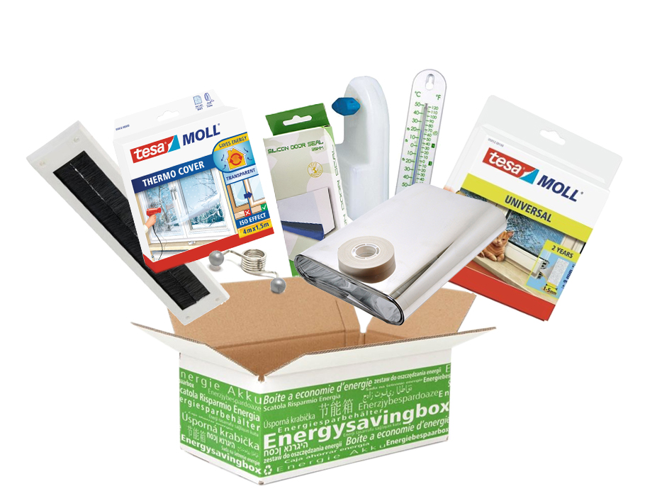 Energiebespaarbox -  large - Gasbesparing