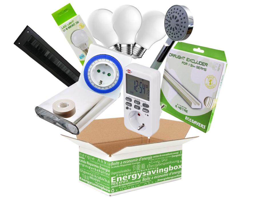Energiebespaarbox V2 - Large - Mix van producten