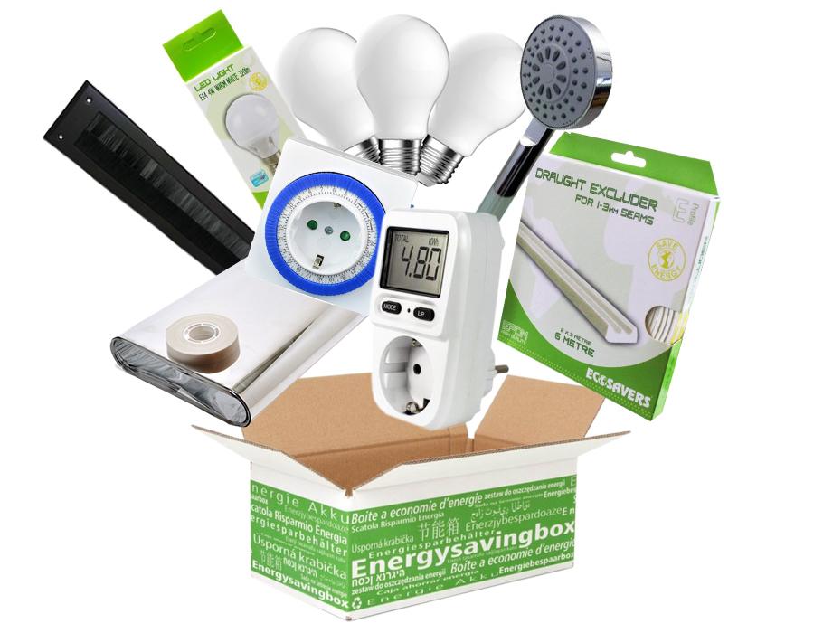 Energiebespaarbox -  Large - Mix van producten