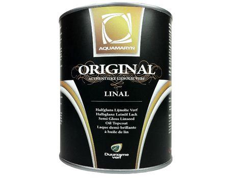 Linal verf - 1L Donker Bruin