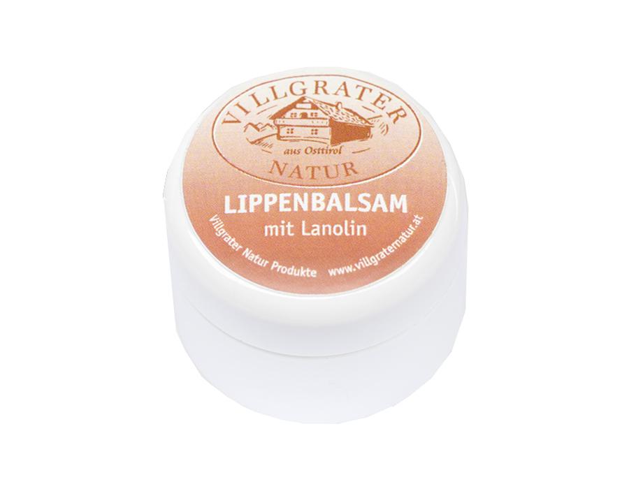 Lip balsem op basis van lanoline
