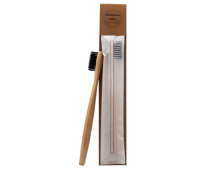 Tandenborstel zwart