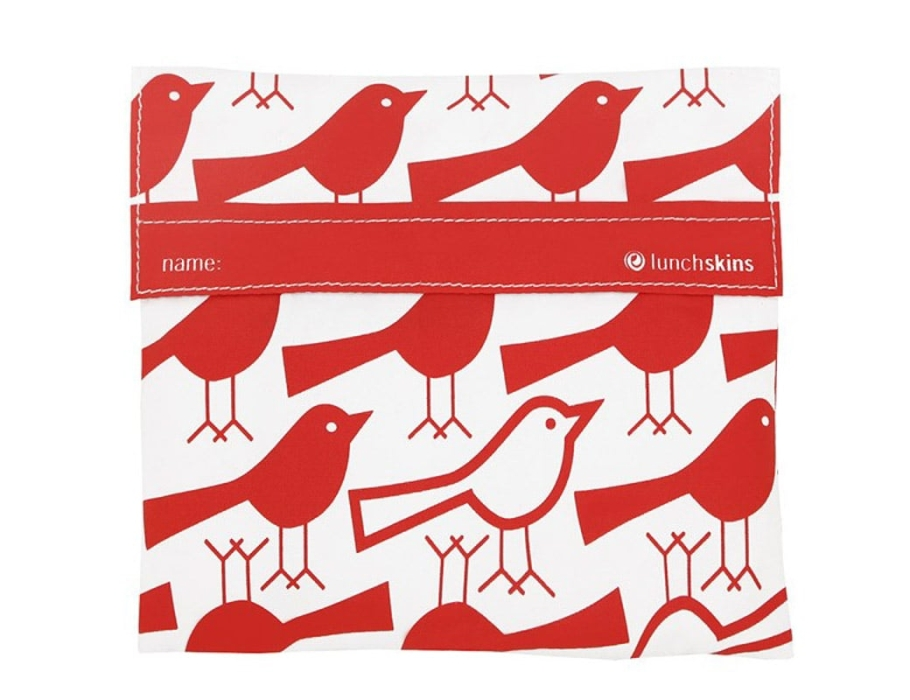 Lunchskin bigbag - Red Birds