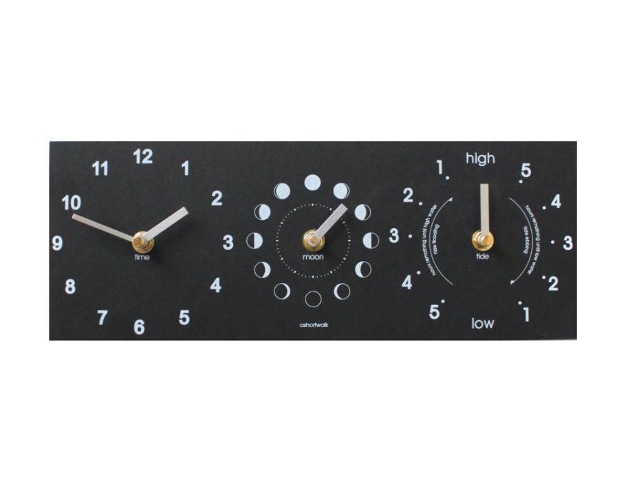 Klok voor Maan- getij- en tijd