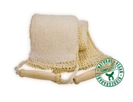 Massage band sisal-loofah