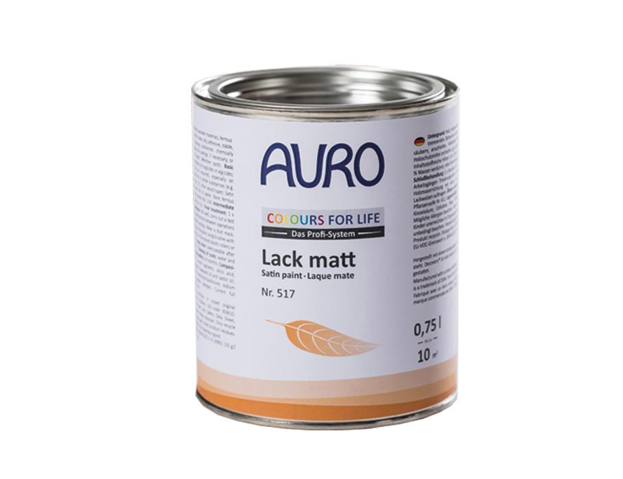 Lack - matt - auf Farbe hergestellt - 517 - 750 ml