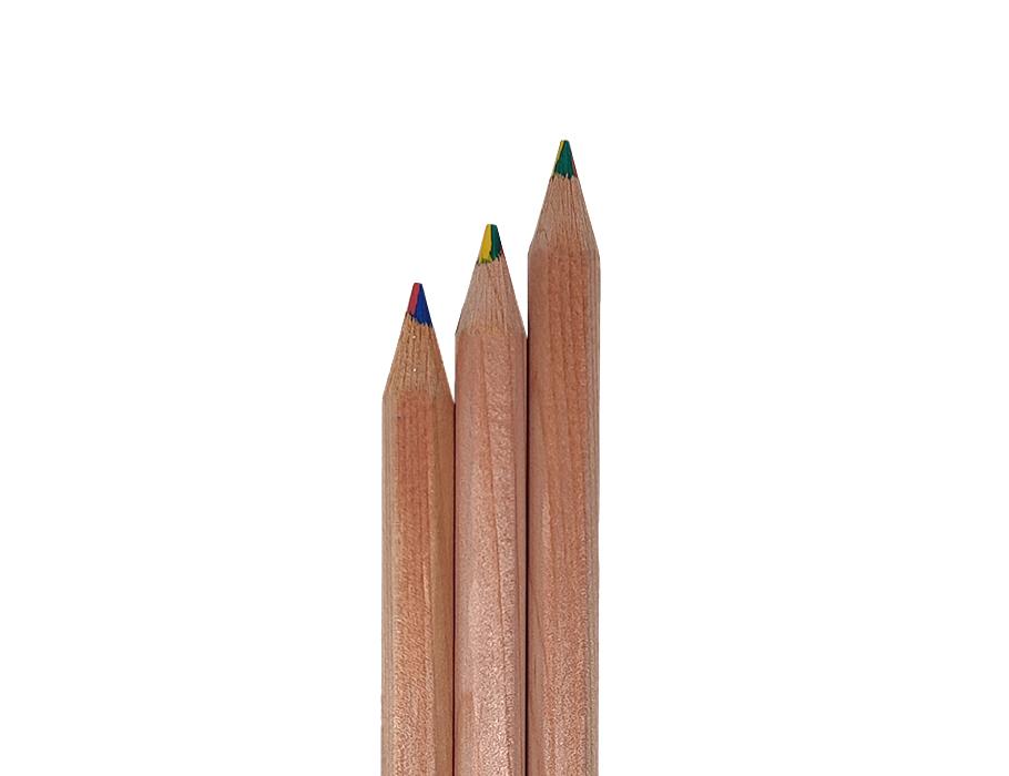 Regenbogen-Bleistift - FSC - Sechseckig